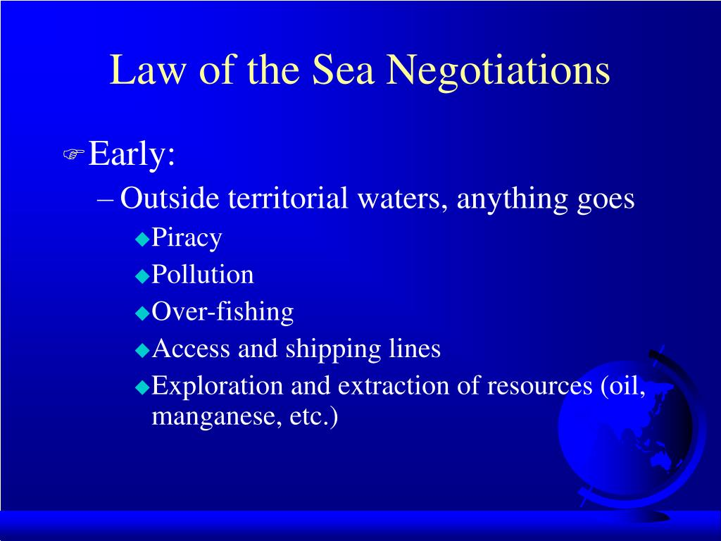 Law of the Sea Negotiations