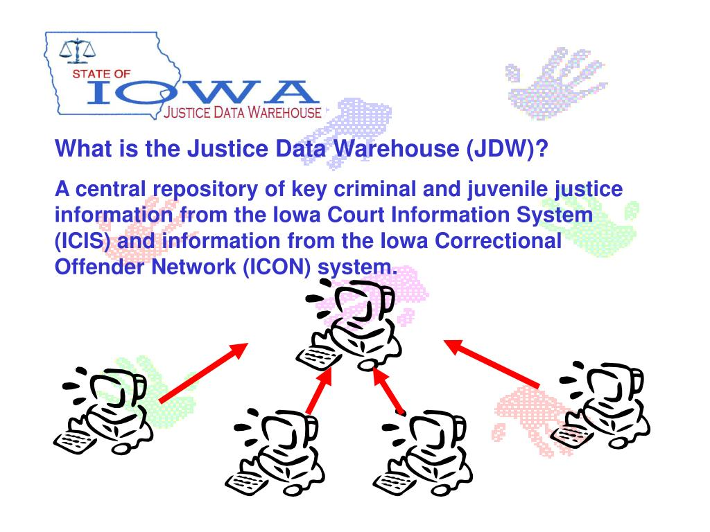 What is the Justice Data Warehouse (JDW)?