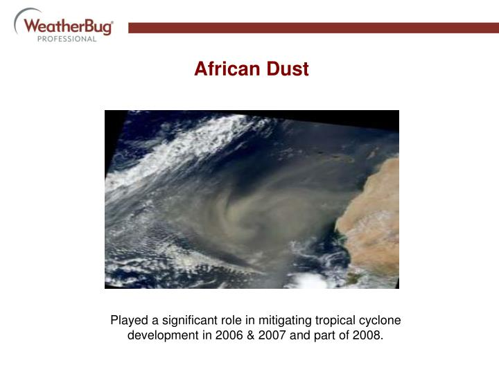 African Dust