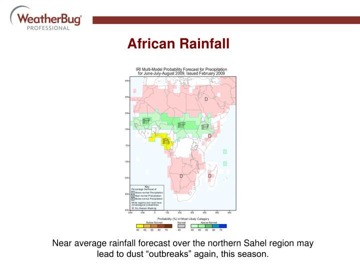 African Rainfall