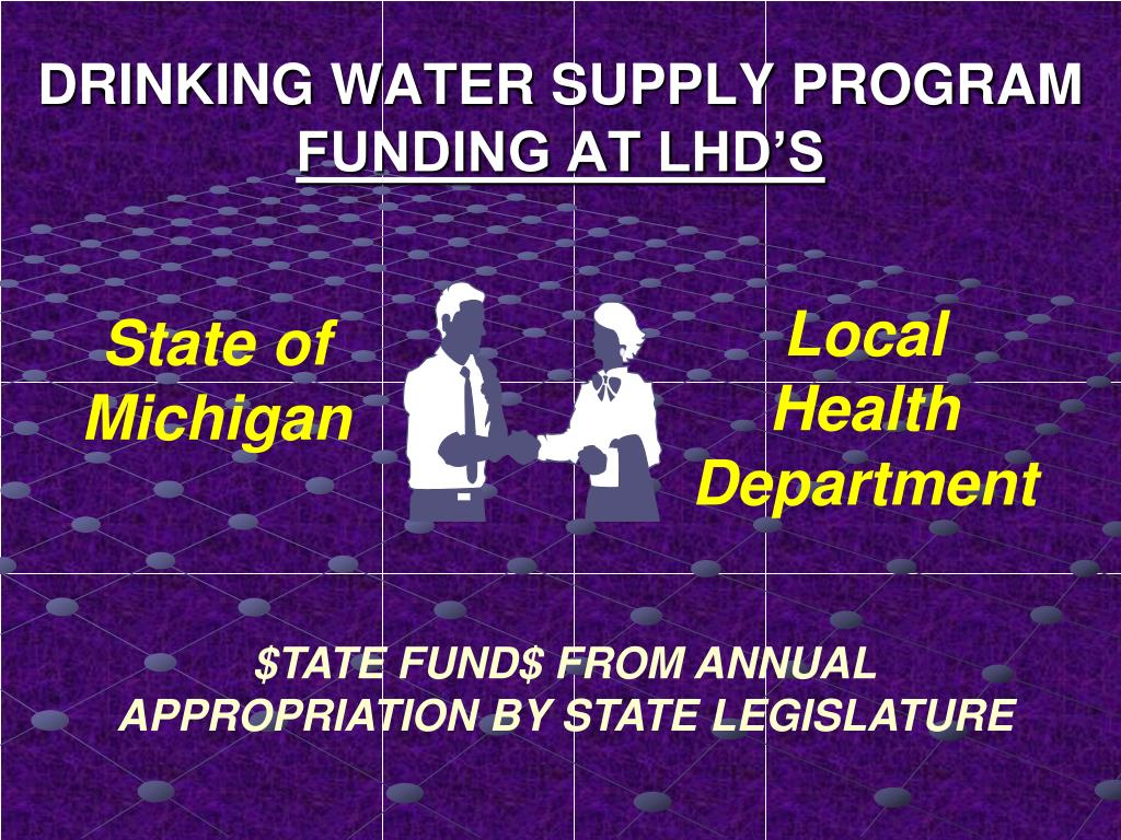 DRINKING WATER SUPPLY PROGRAM