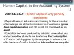 human capital in the accounting system 3
