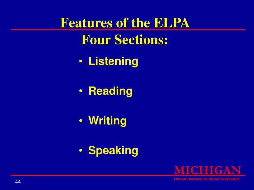 Features of the ELPA