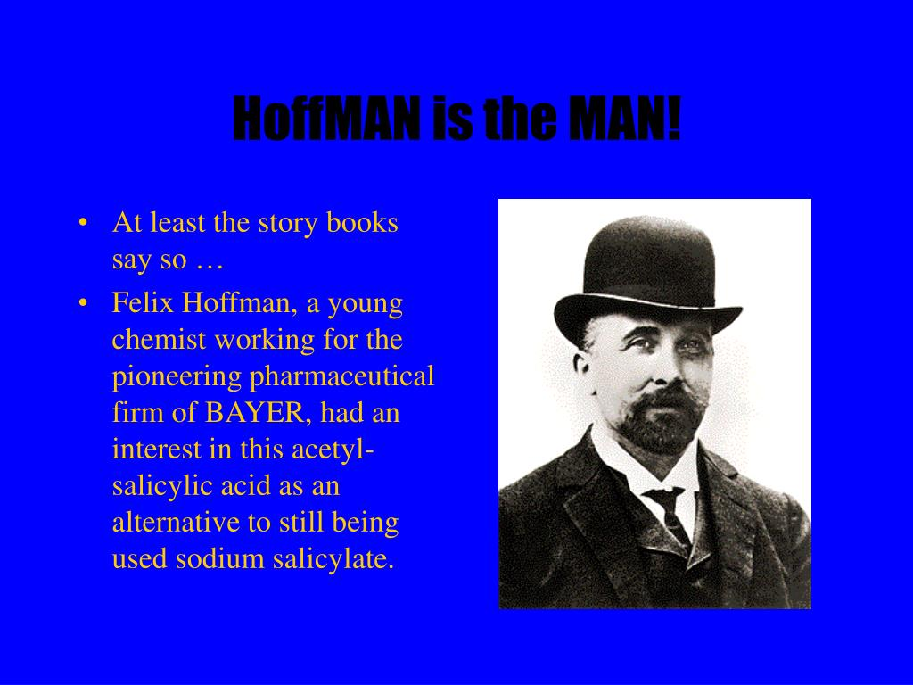 HoffMAN is the MAN!