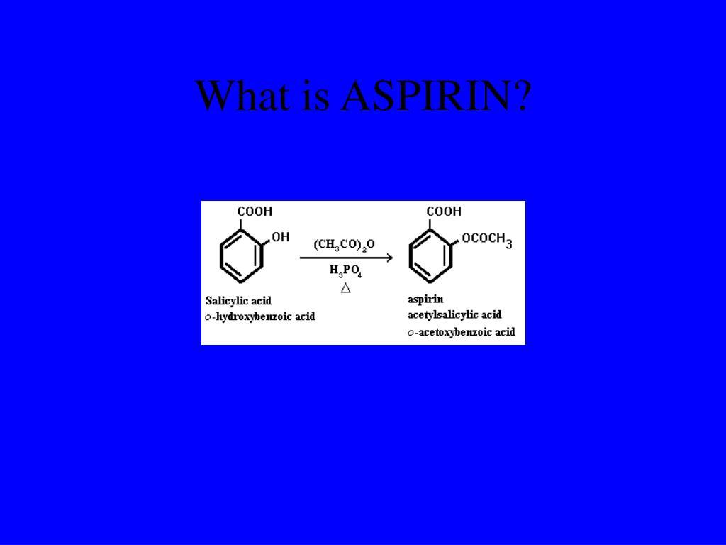 What is ASPIRIN?