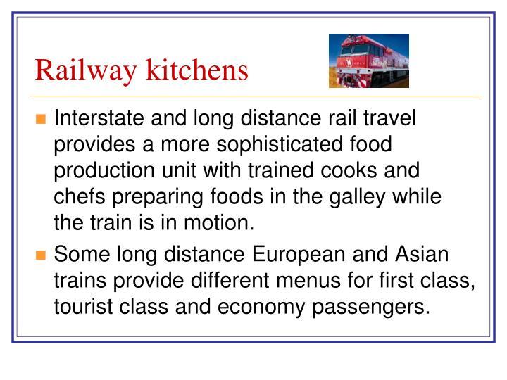 Railway kitchens