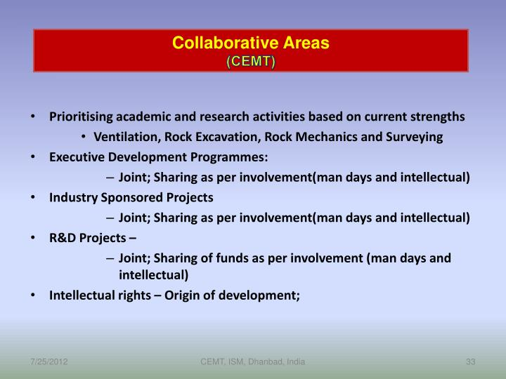 Collaborative Areas
