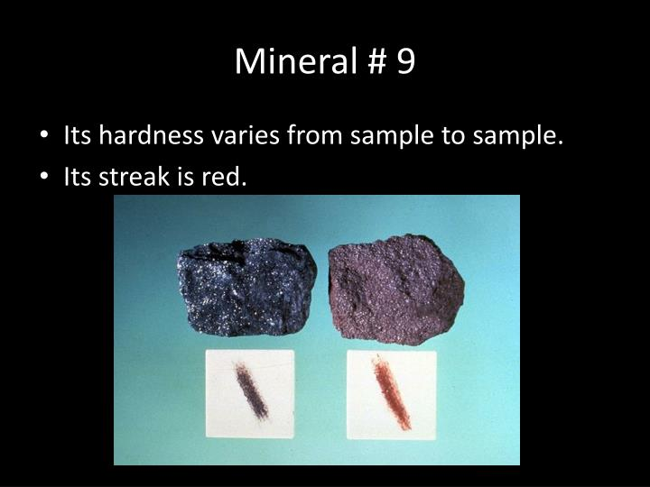 Mineral # 9