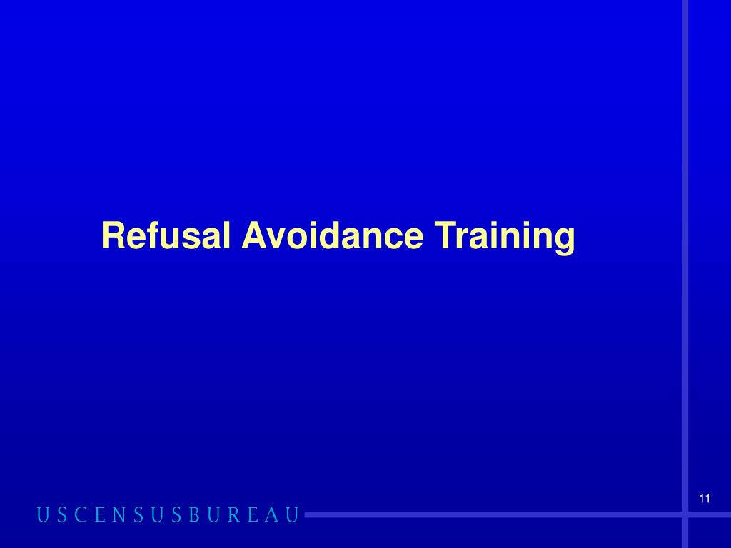 Refusal Avoidance Training