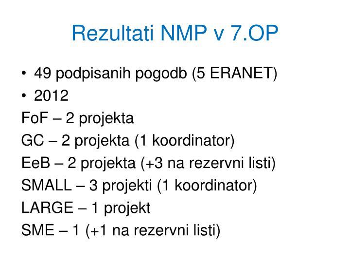 Rezultati NMP v 7.OP