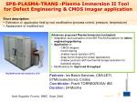 sp8 plasma trans plasma immersion ii tool for defect engineering cmos imager application