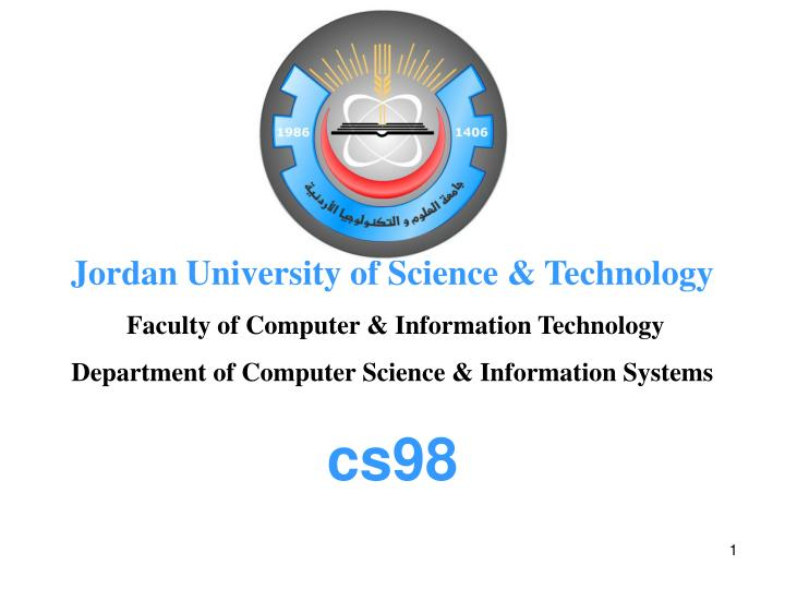 Jordan University of Science & Technology