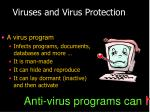 viruses and virus protection