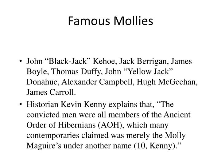 Famous Mollies
