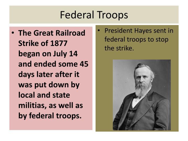 Federal Troops