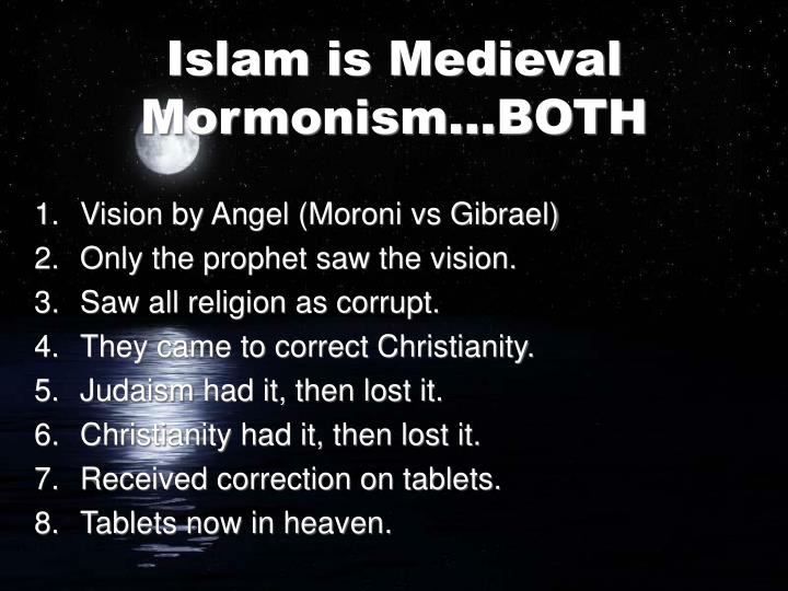 Vision by Angel (Moroni vs Gibrael)