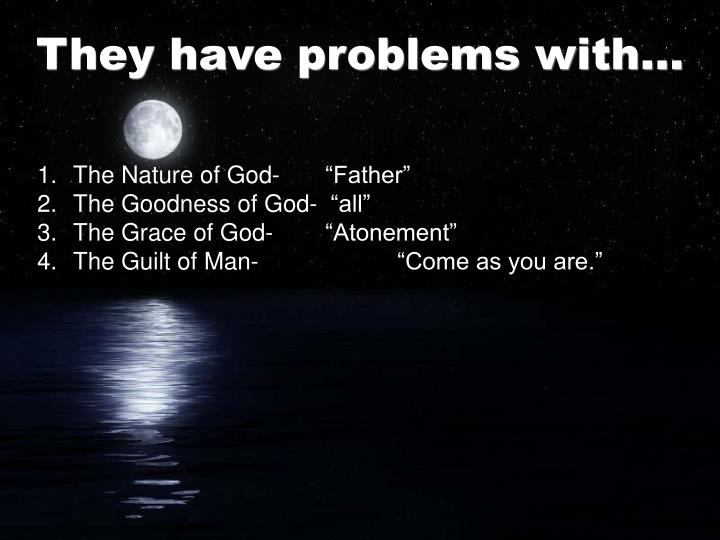 """The Nature of God- """"Father"""""""