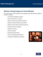 cmi risk management youth risk management19