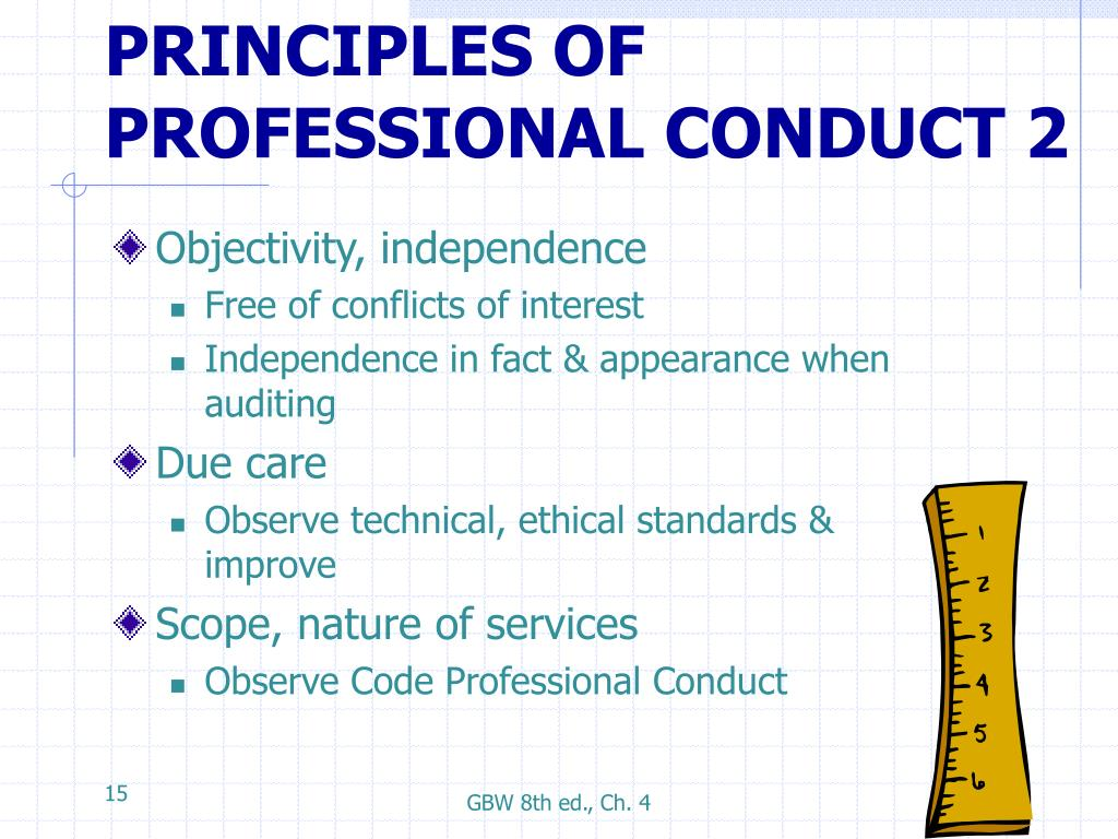 professionalism standards and ethics The topics covered are: professional ethics professional distance the features  and uses of professional standards for teachers the formal procedures around.