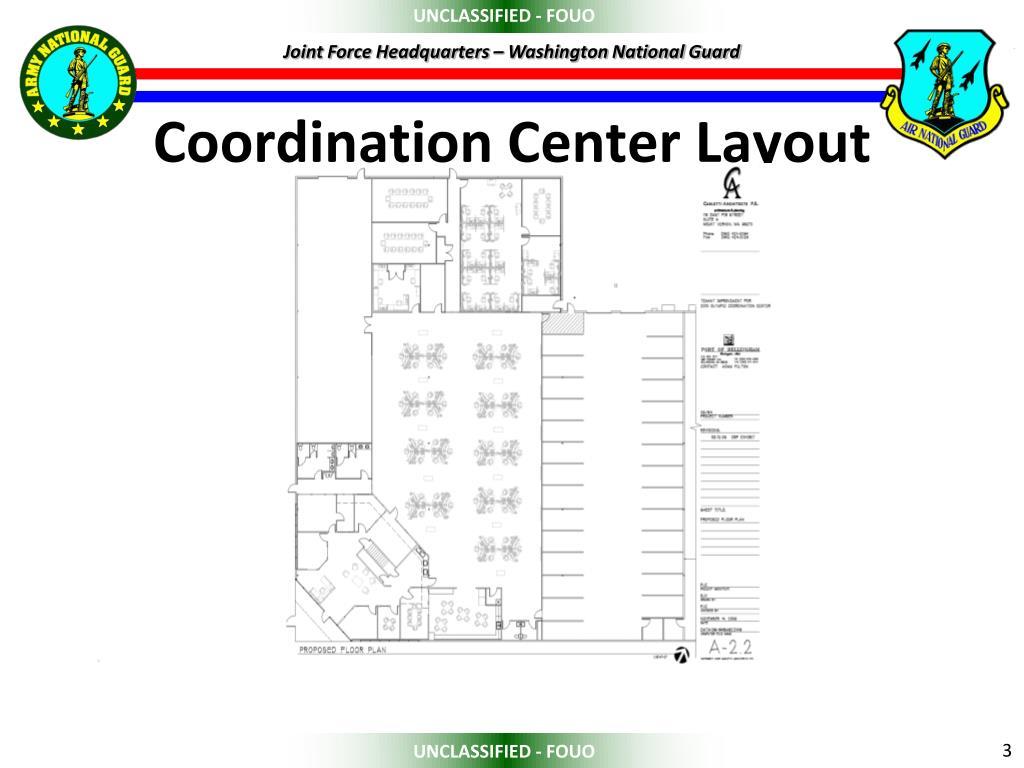 Coordination Center Layout