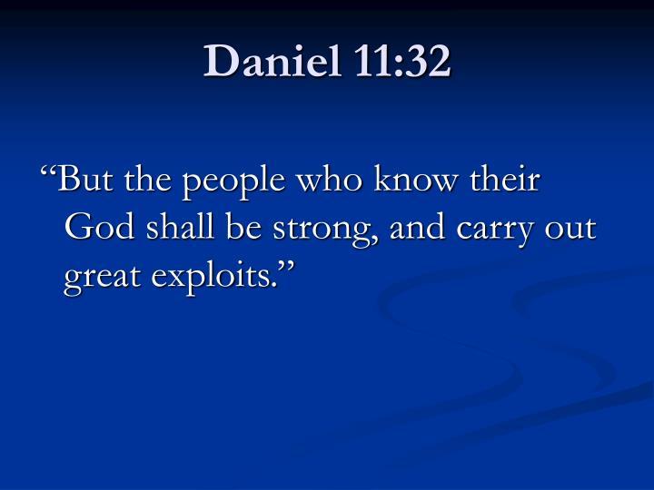 Daniel 11:32
