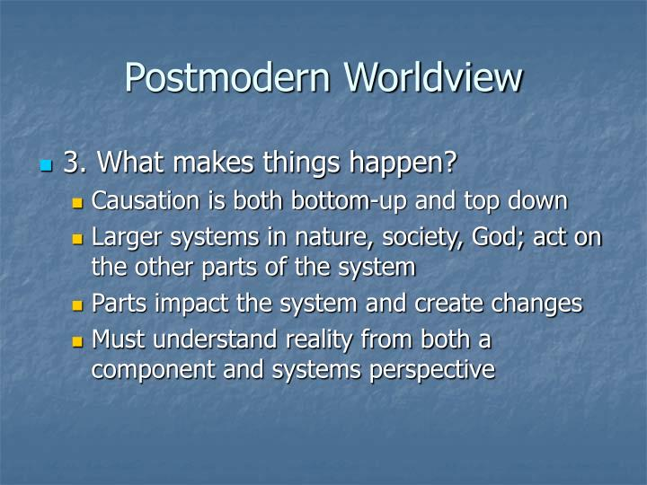 Postmodern Worldview