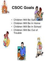 csoc goals