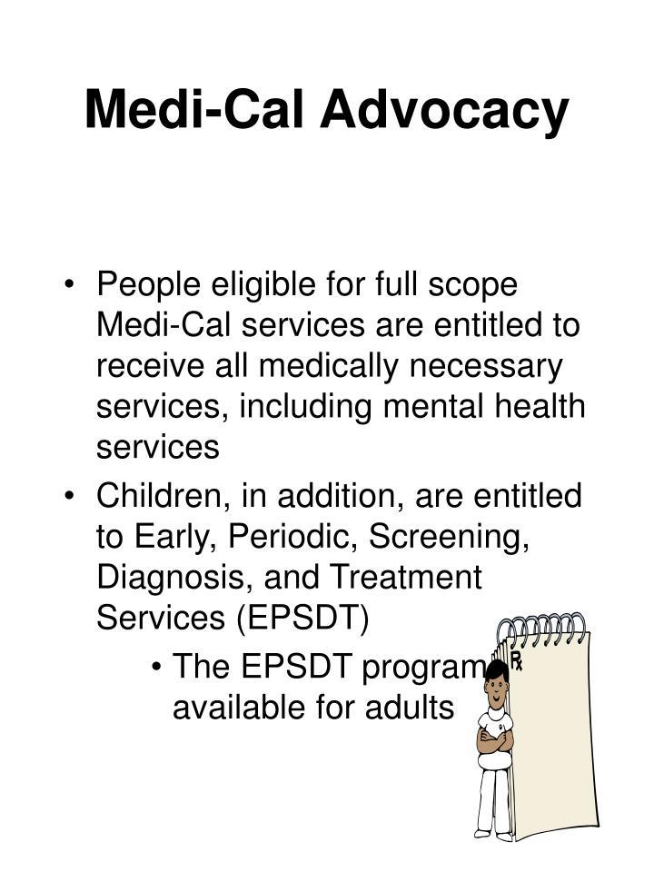 Medi-Cal Advocacy