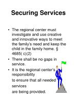 securing services