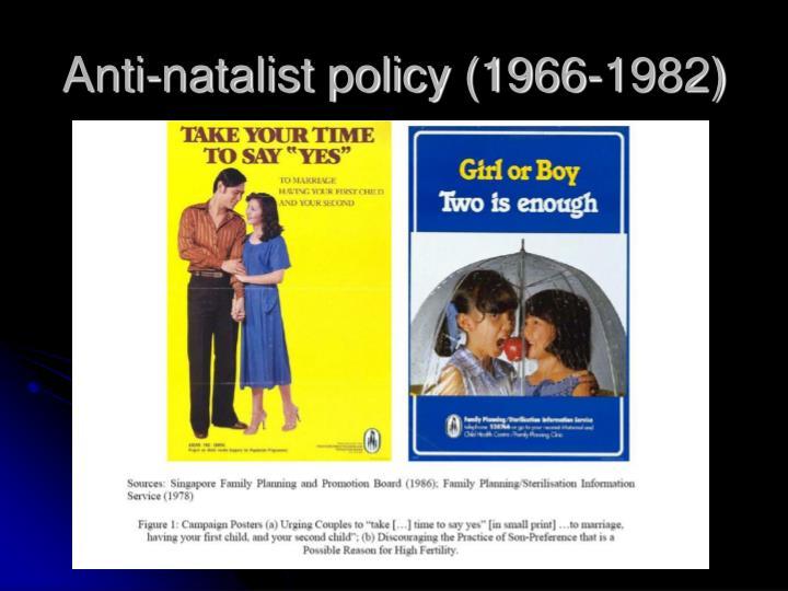 Anti-natalist policy (1966-1982)