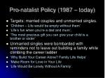 pro natalist policy 1987 today3