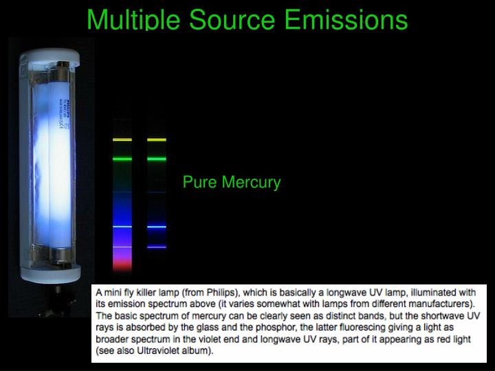 Multiple Source Emissions