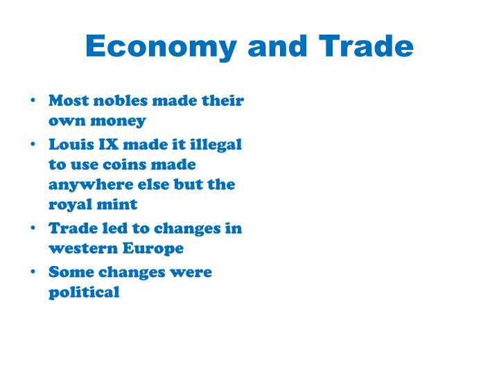 Economy and Trade