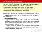 polish system of public administration1