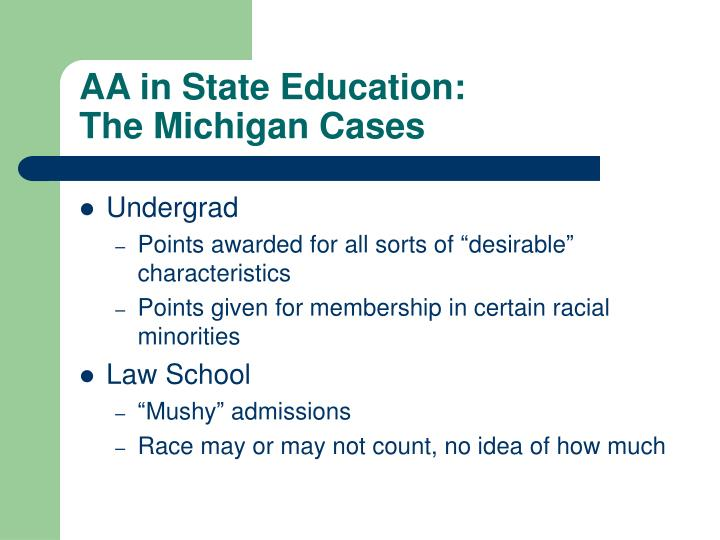 AA in State Education: