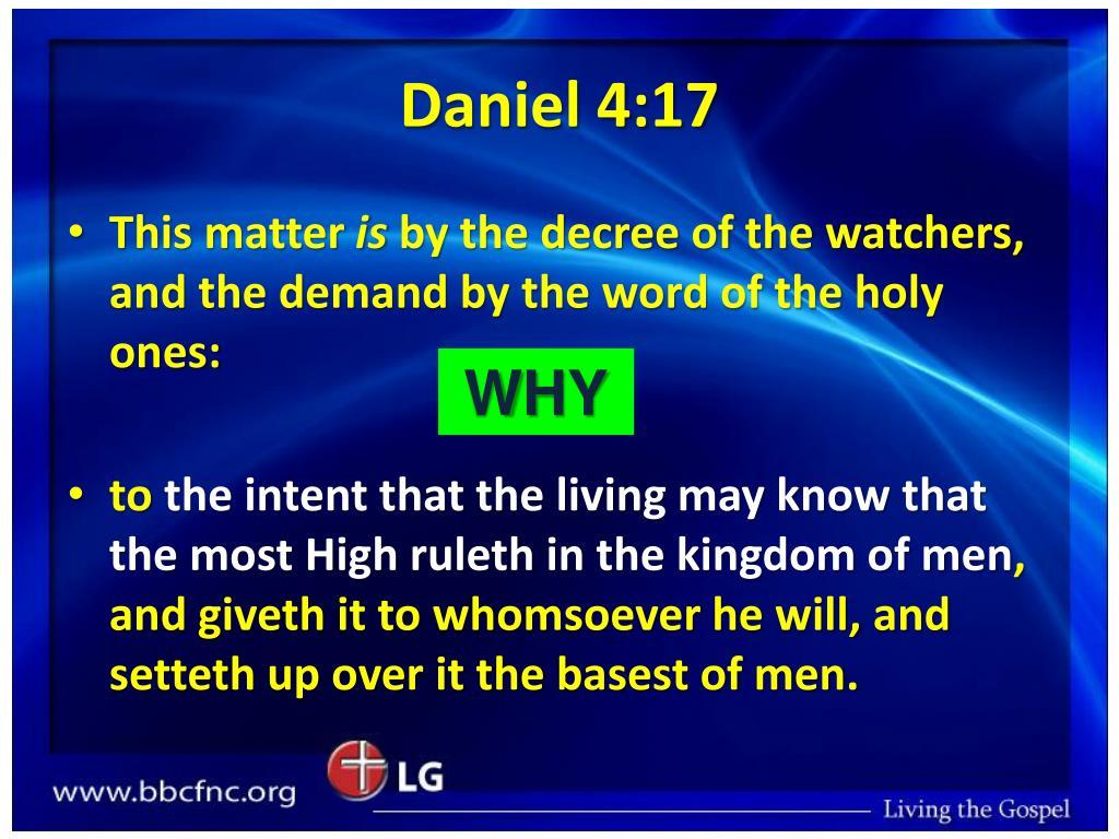 Daniel 4:17