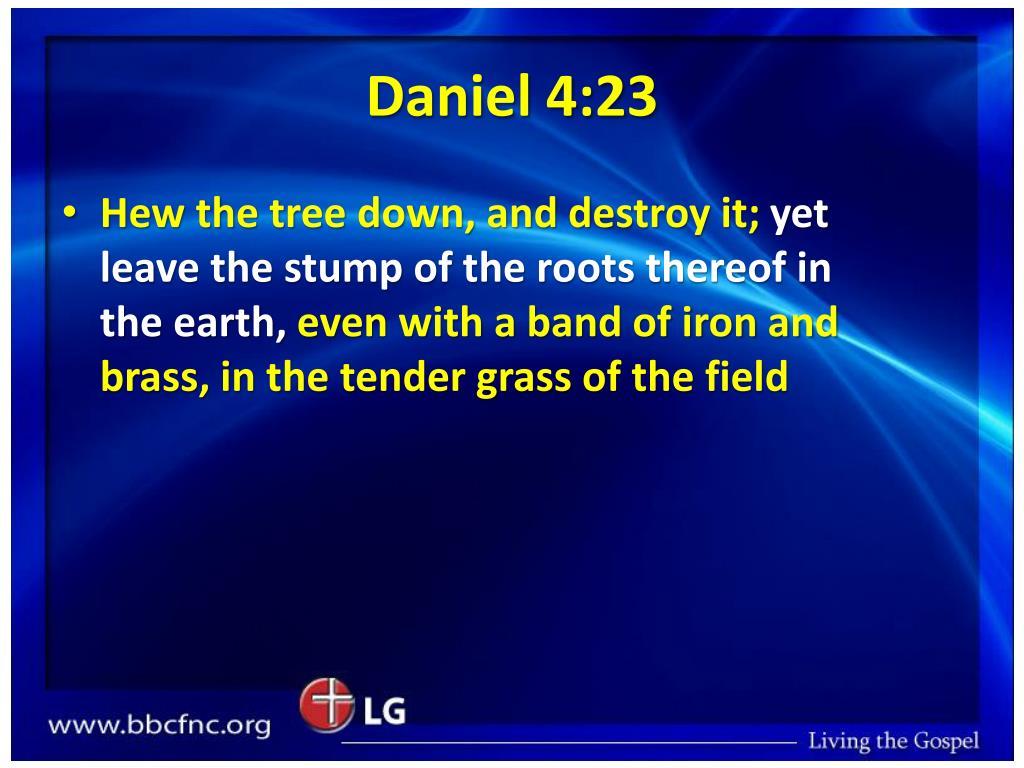 Daniel 4:23