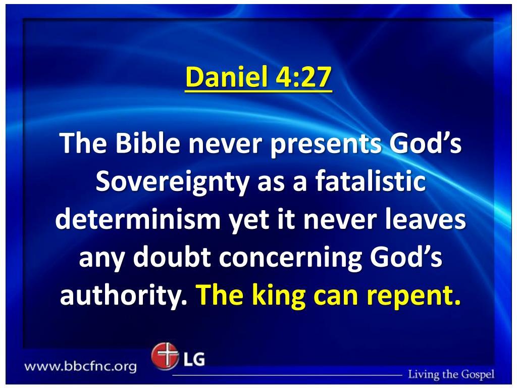 Daniel 4:27