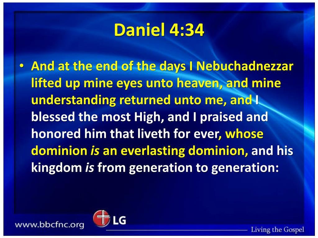 Daniel 4:34