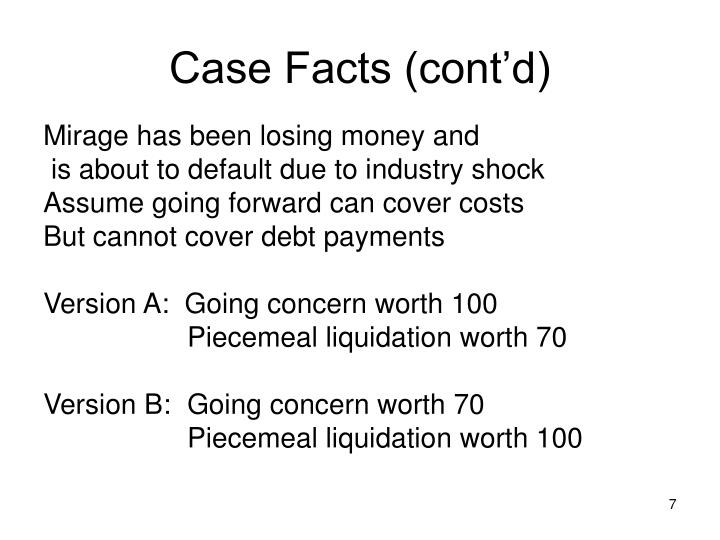 Case Facts (cont'd)
