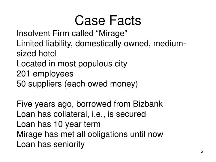 Case Facts