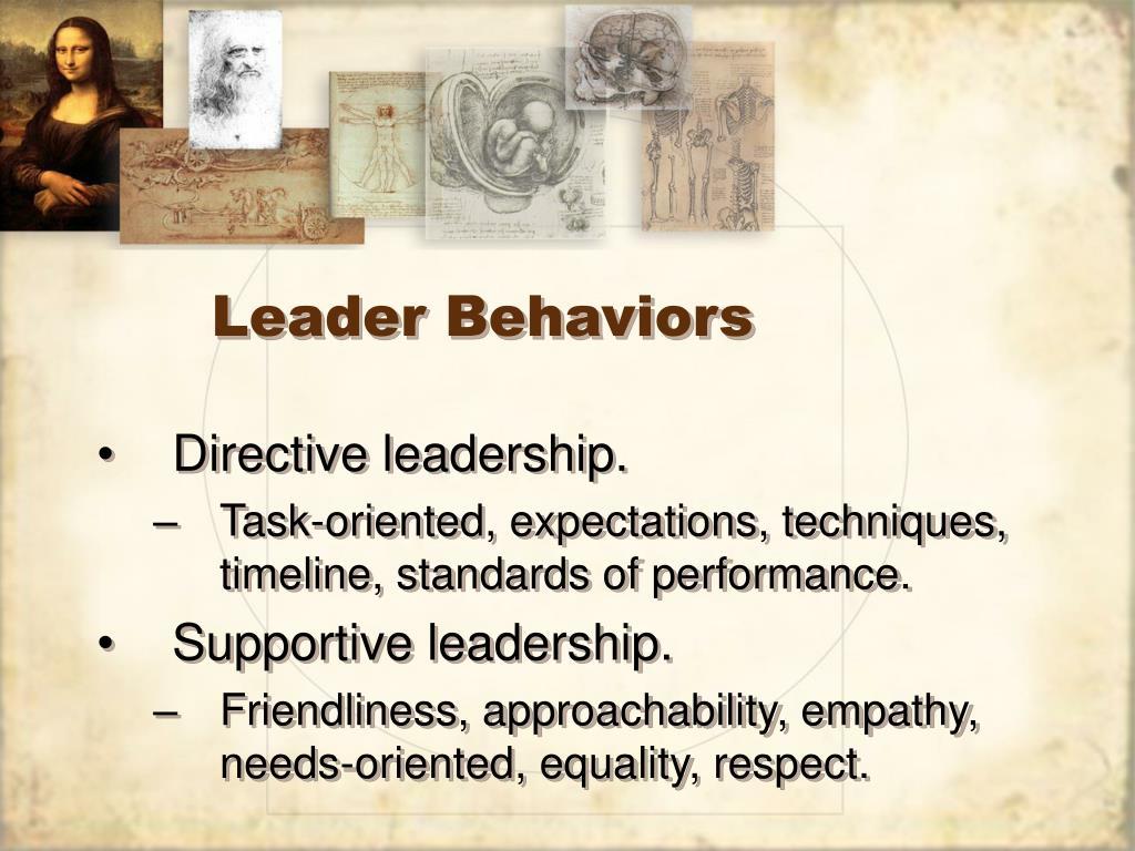 Leader Behaviors