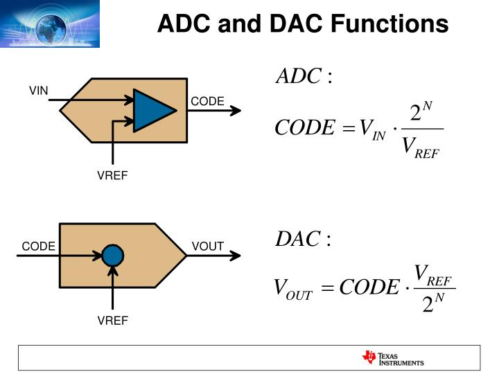 ADC and DAC Functions