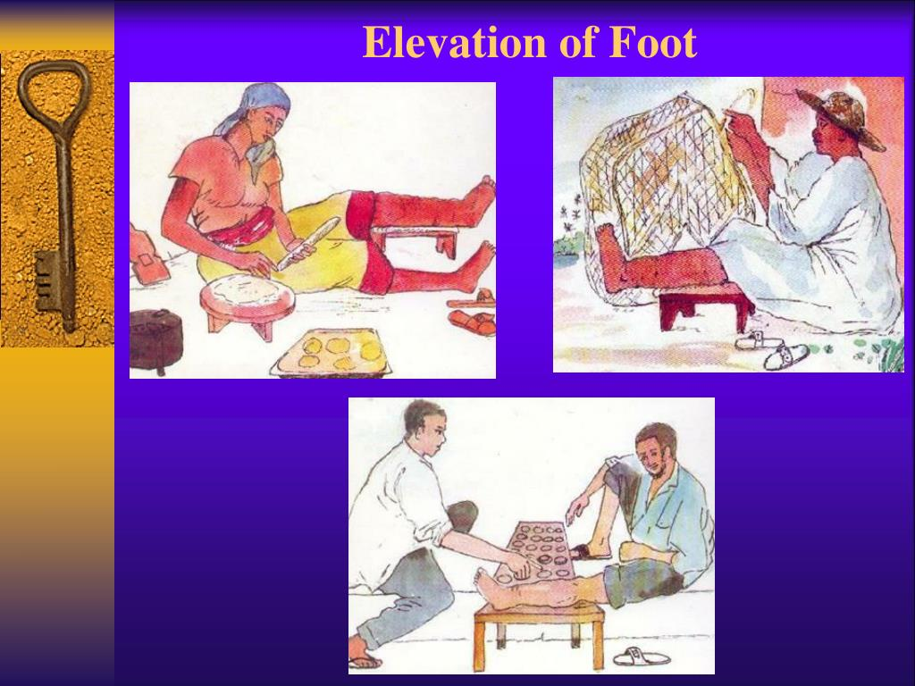 Elevation of Foot
