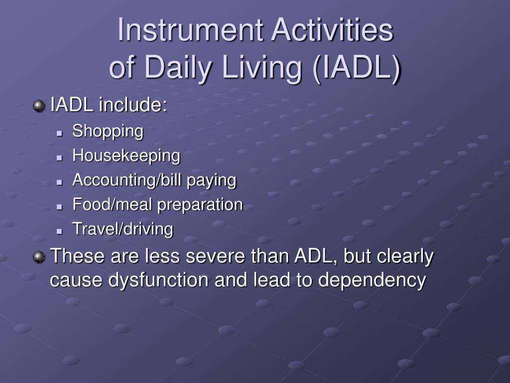 Instrument Activities