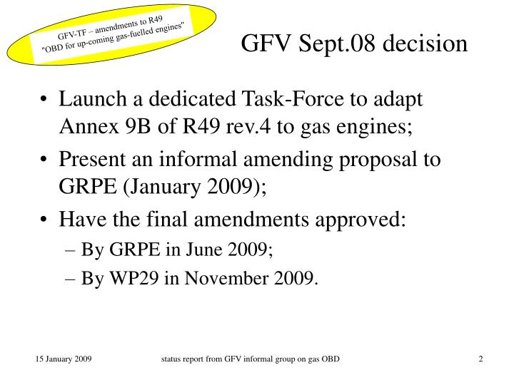 GFV Sept.08 decision