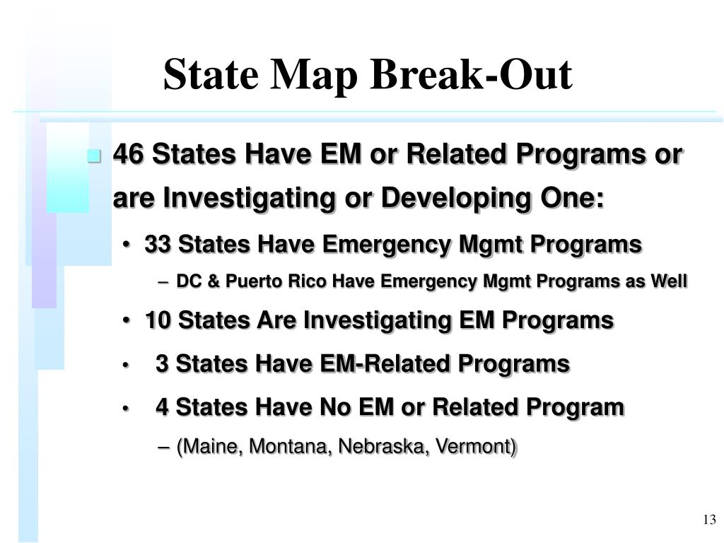 State Map Break-Out