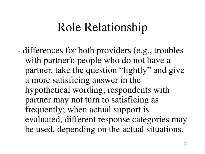 Role Relationship