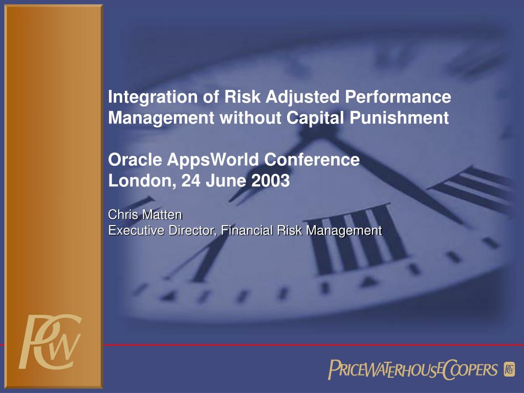 Integration of Risk Adjusted Performance Management without Capital Punishment