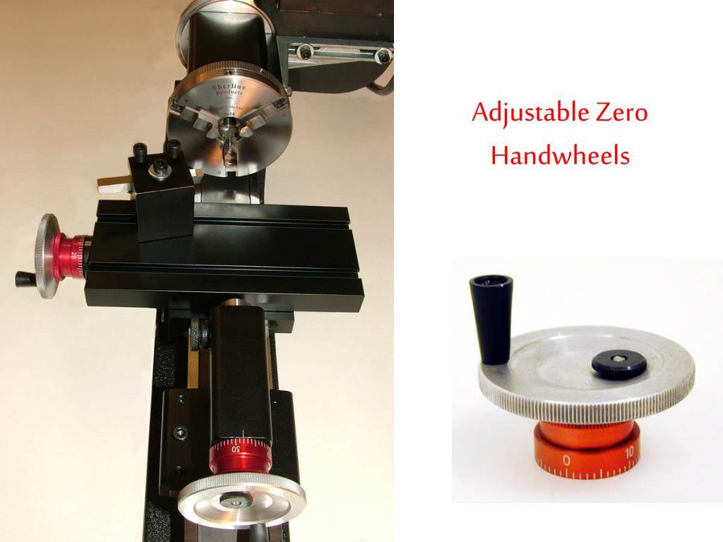 Adjustable Zero Handwheels